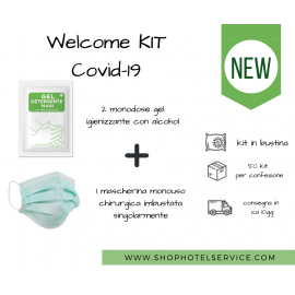 WELCOME KIT COVID19 - 50PZ